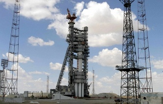 Russian Proton rocket in Baikonur (archive)