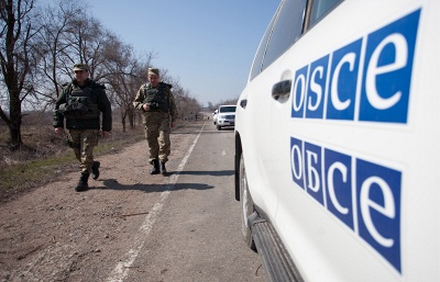 OSCE says Ukrainian armed forces bombarded village east of Mariupol on Friday